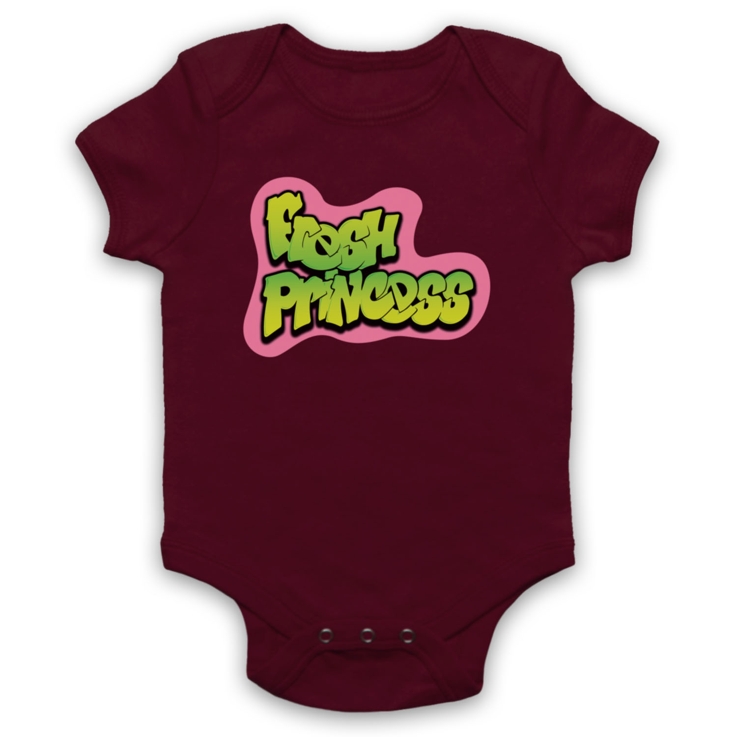 FRESH PRINCESS Parodie logo de bel air Prince Fille Cool Baby Grow Babygrow Cadeau