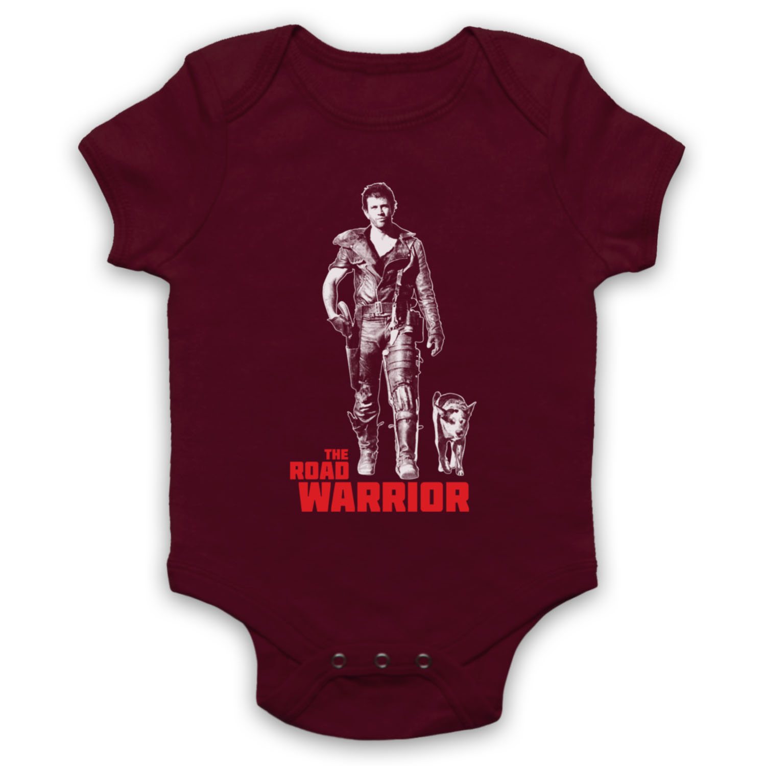 MAD MAX 2 Unofficial The Road Warrior Gibson Mel Film Baby Grow Babygrow Cadeau