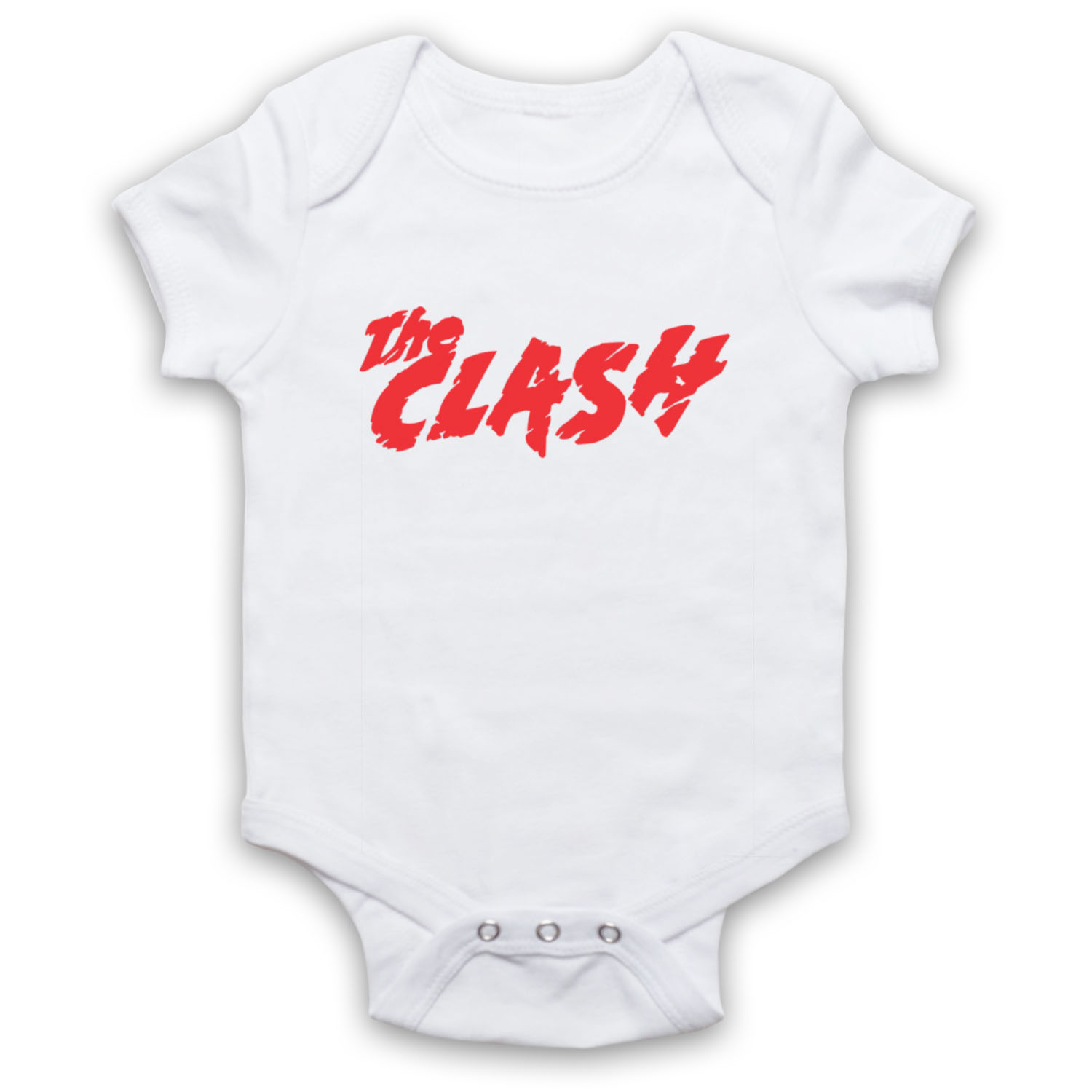 CLASH LOGO UNOFFICIAL THE PUNK BAND ROCK LEGENDS UK BABY GROW