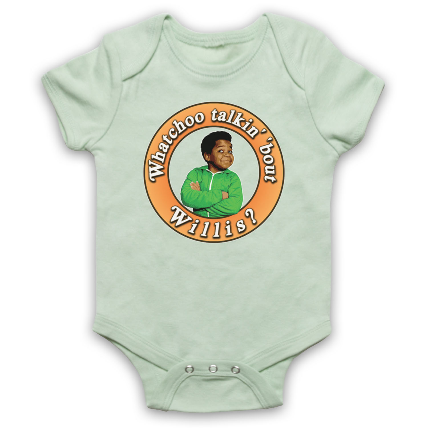 DIFF RENT STROKES DIFFERENT TALKIN WILLIS UNOFFICIAL BABY GROW