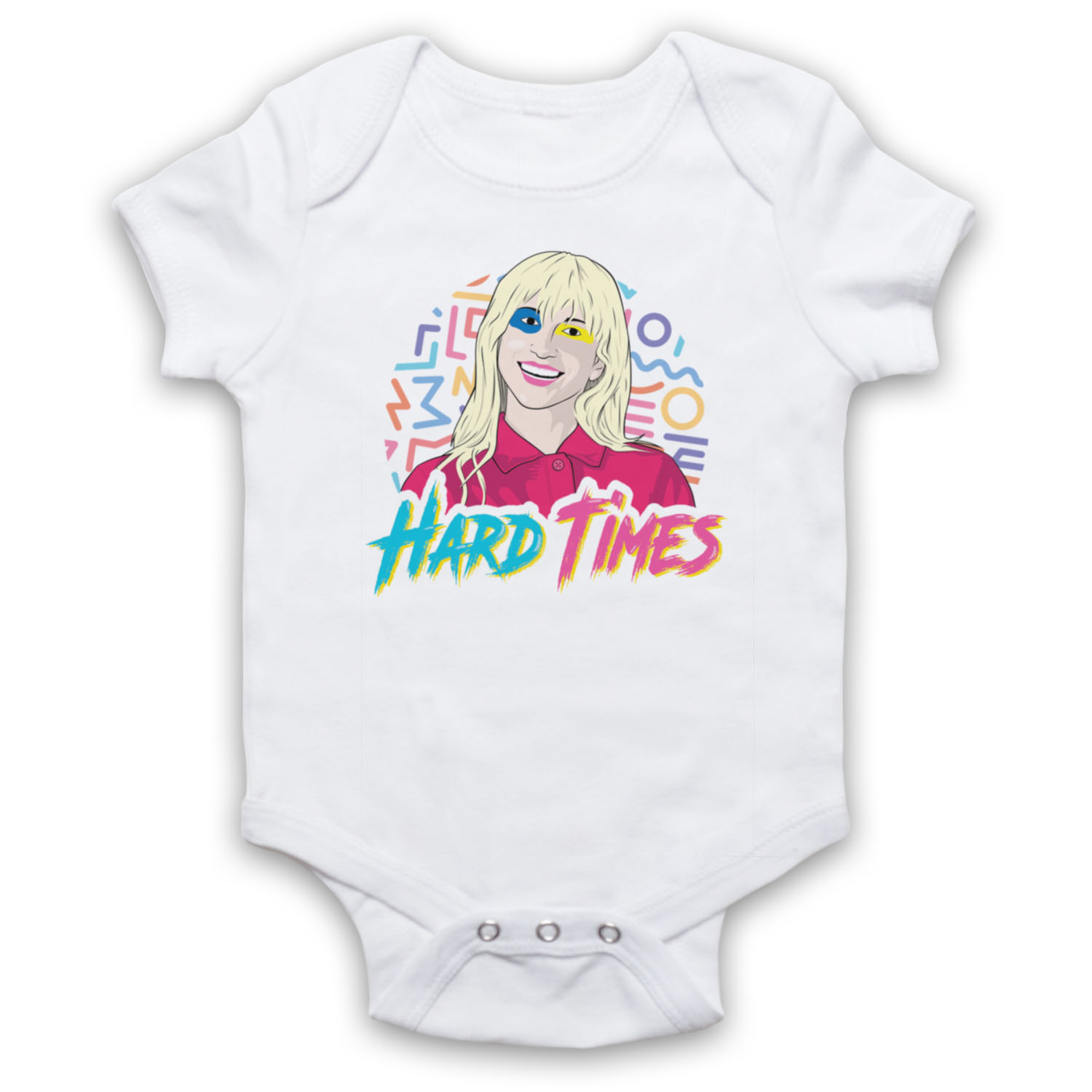 HARD TIMES HAYLEY WILLIAMS UNOFFICIAL PARAMORE ROCK BABY GROW