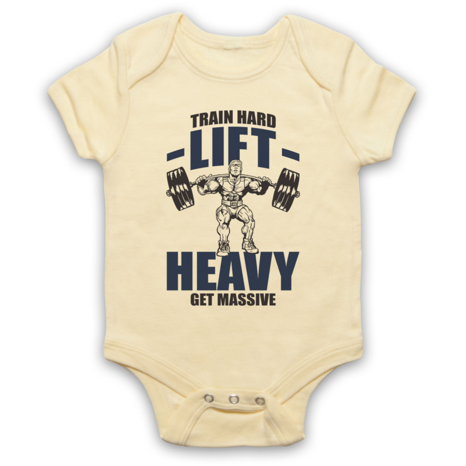 TRAIN-HARD-LIFT-HEAVY-BODYBUILDING-GYM-WORKOUT-WEIGHT-BABY-GROW-BABYGROW-GIFT