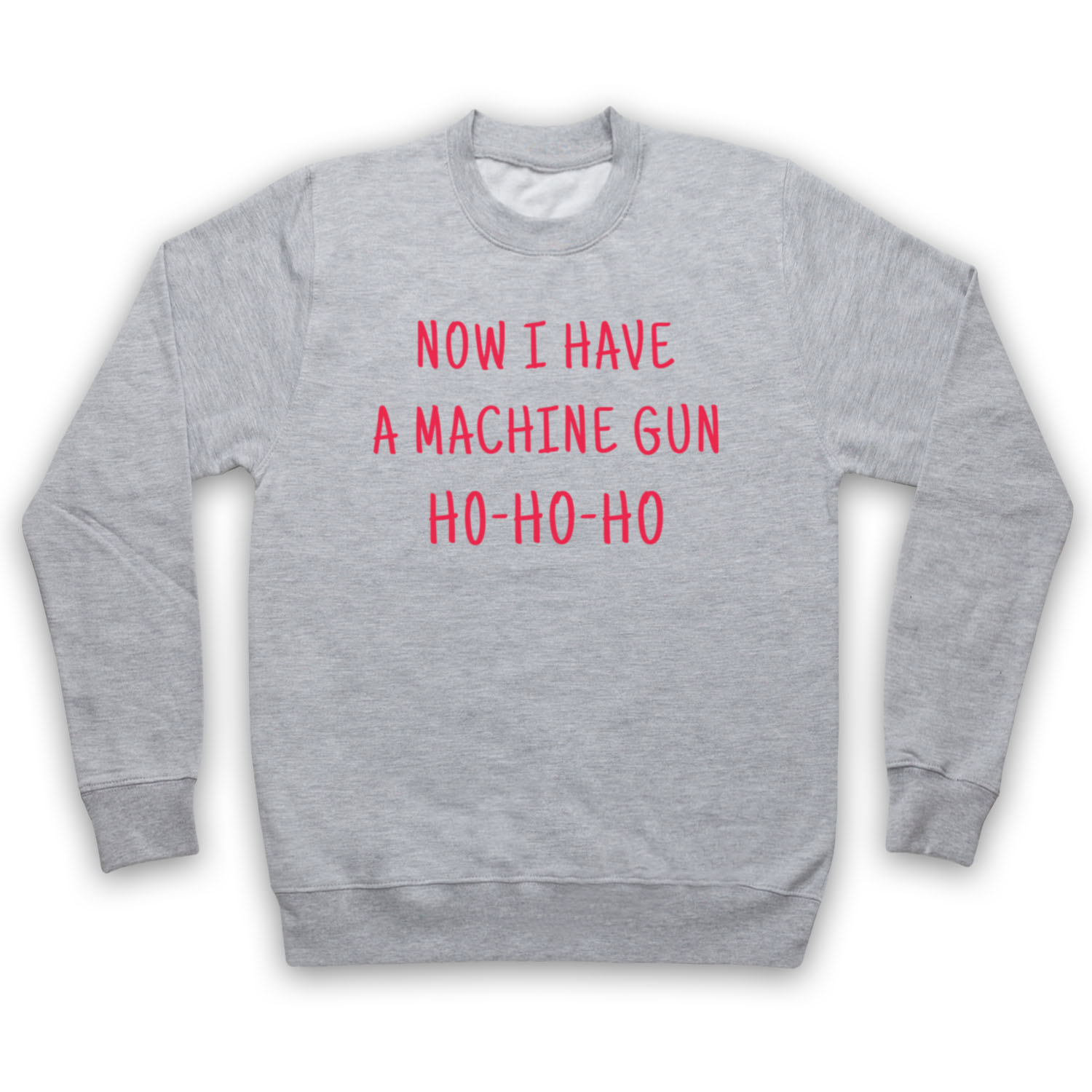 DIE HARD UNOFFICIAL NOW I HAVE A MACHINE GUN HO HO XMAS ADULTS ...