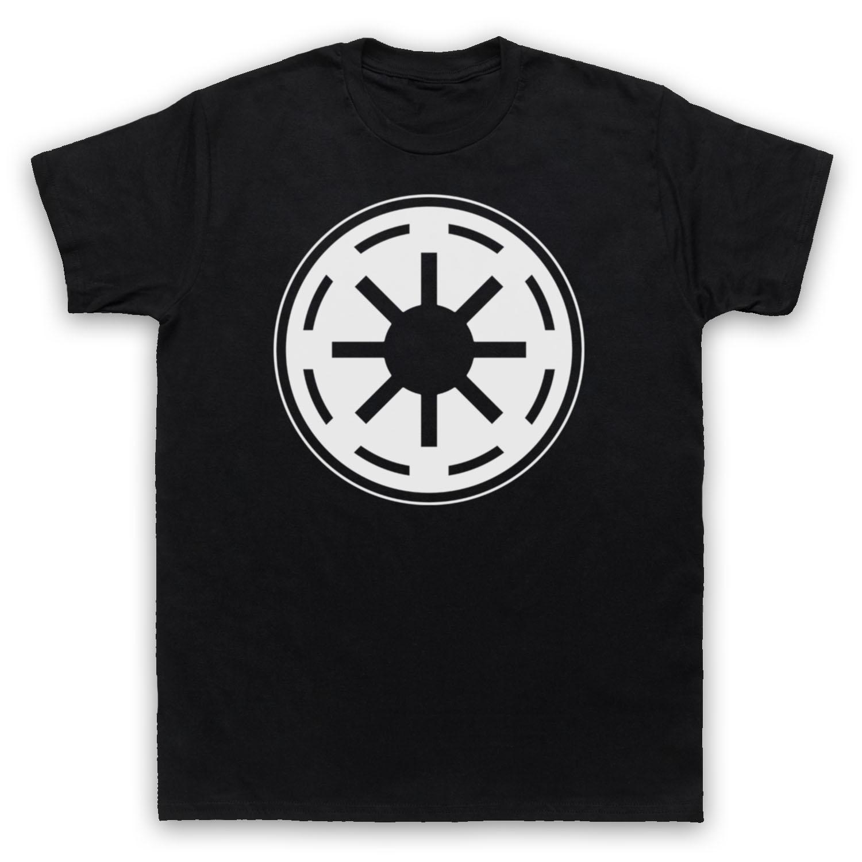 Star Wars Galactic Republic Logo Sci Fi Film Symbol Adults Kids T