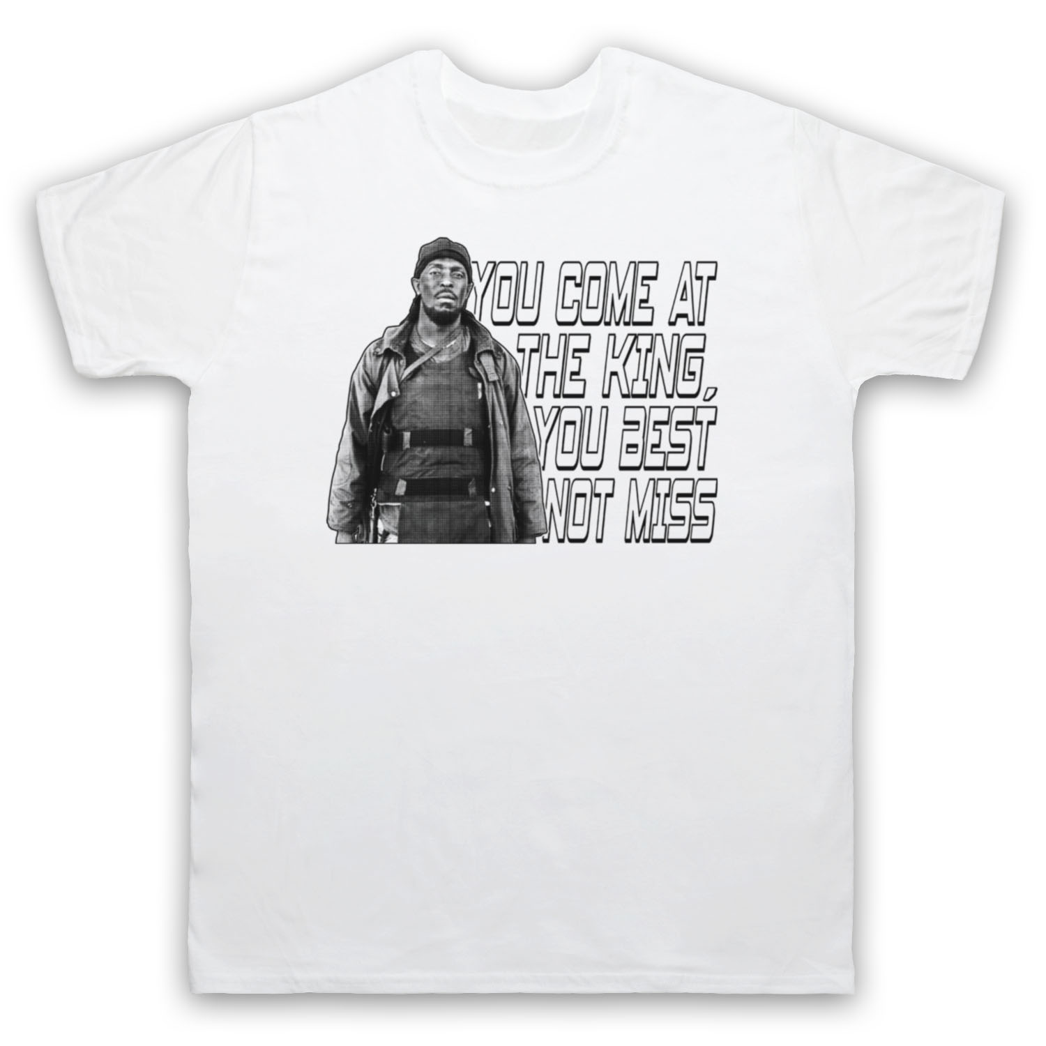 THE WIRE OMAR YOU COME AT THE KING YOU BEST NOT MISS ADULTS & KIDS T ...