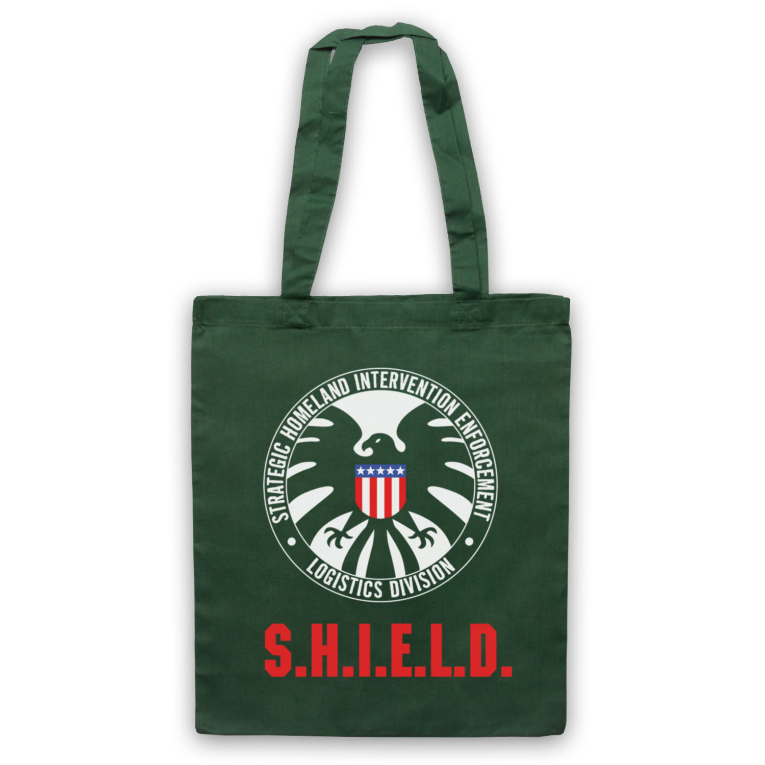 Iron Man Movie Shield Unofficial Marvel Logo Hero Tote Bag
